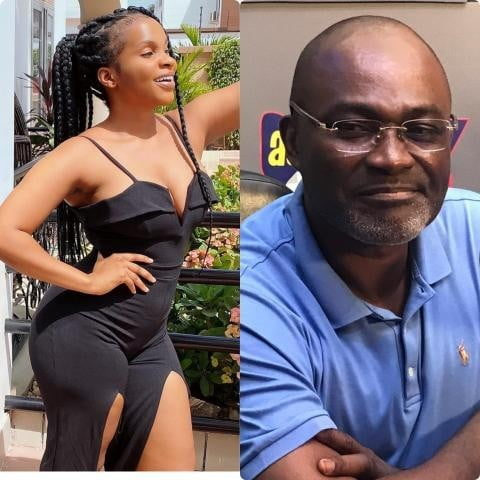 Benedicta Gaffah and Kennedy Agyapong