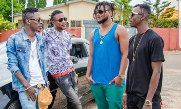Shatta Wale and his Militants