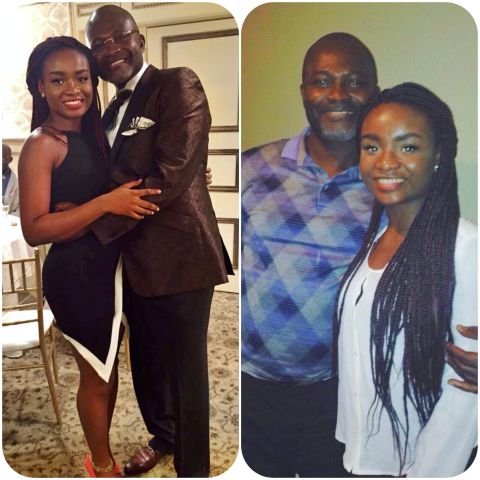 Kennedy Agyapong's 'wayward' daughter, Anell Agyapong sends an emotional message to him on Father's Day
