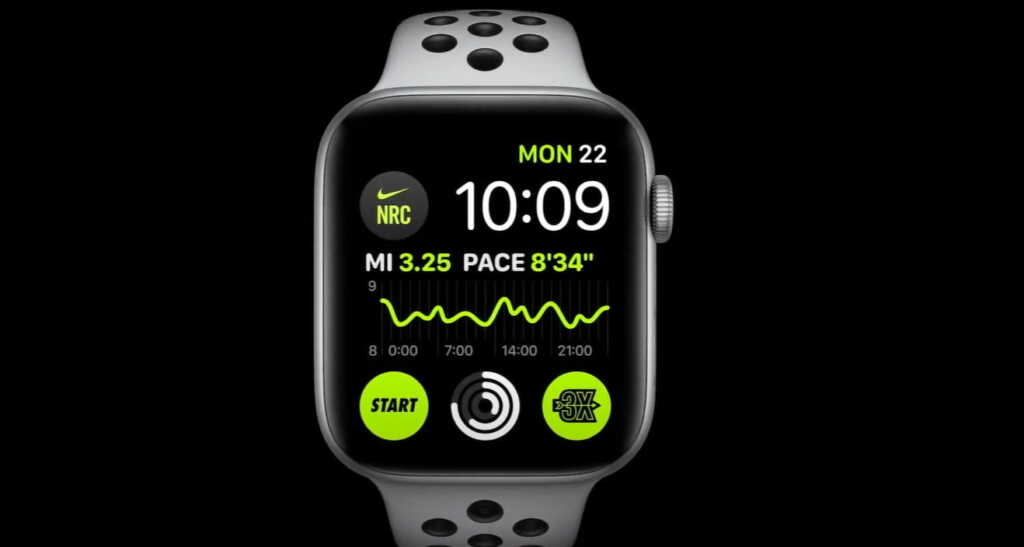 "New ""rich complications"" in watchOS 7."