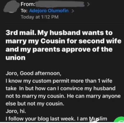 marry cousin »