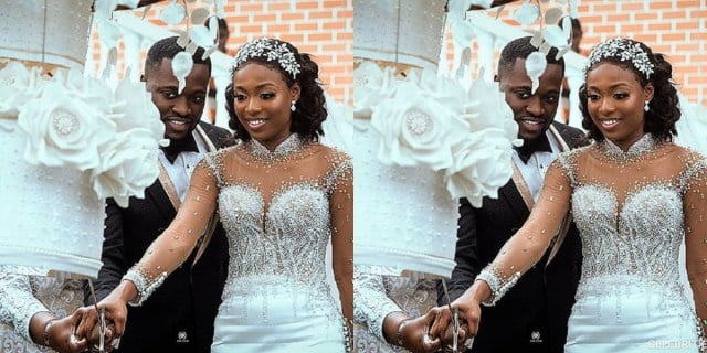 KENCY2020: The white wedding of Mr. and Mrs. Osei Asante