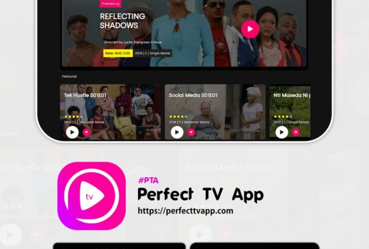 My Perfect TV app to stimulate the Ghana film industry