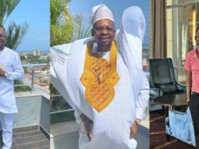 Nana Tonardo reacts to photos suggesting he dumped the Bible, Quran and Torah in the toilet [See his response]
