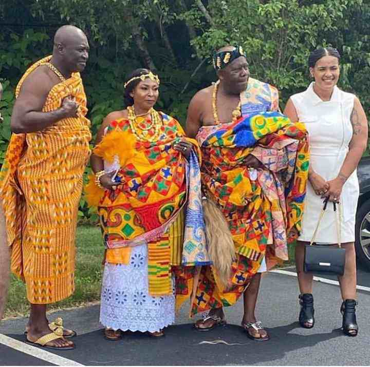 Photos from the traditional marriage of Kyeiwaa pop up