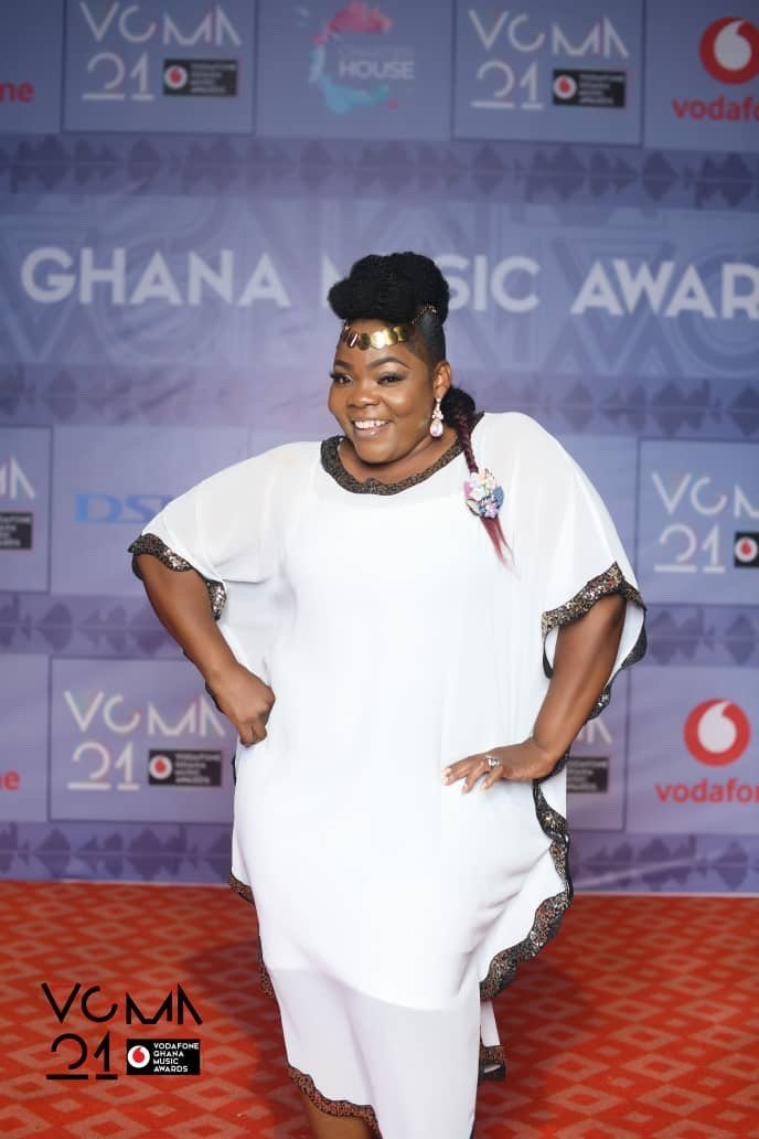 VGMA21: Celestine Donkor wins female vocalist of the year