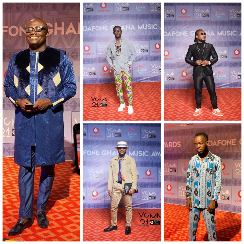 Red carpet photos from VGMA21