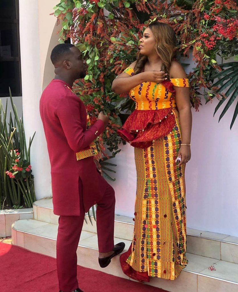 Joe Mettle finally ties the knot with Selassie in a colourful traditional ceremony (Video+Photos)