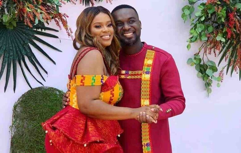 Joe Mettle finally marries Selassie in a colourful traditional ceremony [Video+Photos]