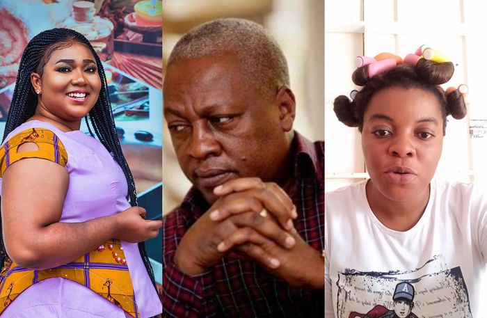 Xandy Kamel was sleeping with John Mahama ~Gloria Kani [video]