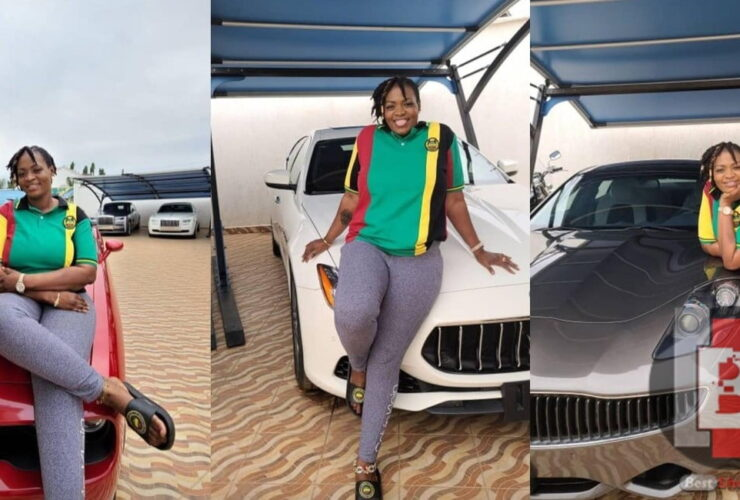 Ayisha Modi displays Stonebwoy's mansion and cars on social media in a new video [Watch]