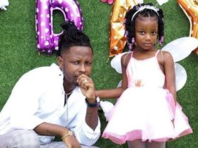 Kelvynboy throws party for his 4 year old daughter [See Photo]
