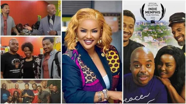 """Nana Ama McBrown featured in American Movie """"Coming To Africa"""" [Watch thriller]"""