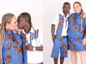 Patapaa & his German fiancee expecting a baby?