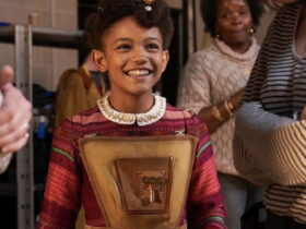 Meet the young Ghanaian girl who starred in a Christmas movie, Jingle Jangle ~ See Photos
