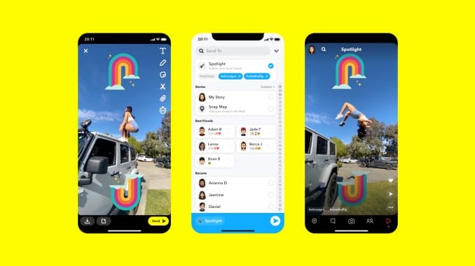 Snapchat set to launch an adversary ad to TikTok and Instagram Reels