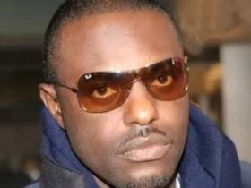 Nigerian actor Jim Iyke survives a car accident