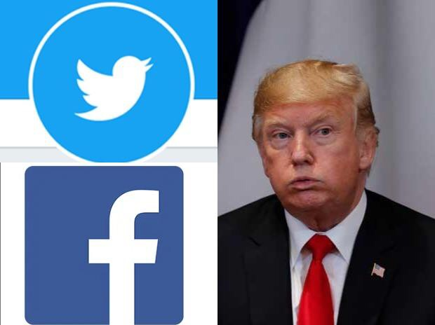 Facebook, Twitter lock President Donald Trump's account