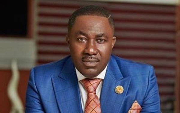 Dr. Osei Kwame Despite packed all his cars, drove an 'Okada' to his birthday party [Watch Video]
