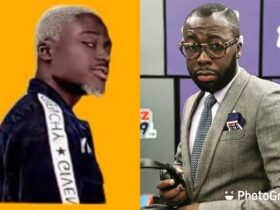 "Andy Dosty tells Okese 1 to walk out from his studio, Jams to his ""Yie Yie"" song moments later [Video]"