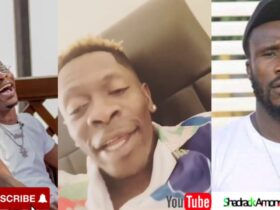 Shatta Wale cries like a baby as he reacts to a video of Ras Nene ' Dr Likee' [ Watch video]