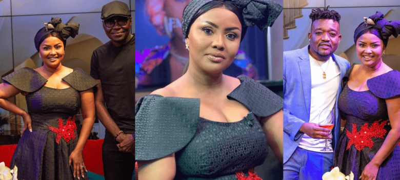 Nana Ama McBrown, Gloria Sarfo, Eddie Watson and other GH stars storm one week commemoration of Eddie Nartey's wife [Watch videos]