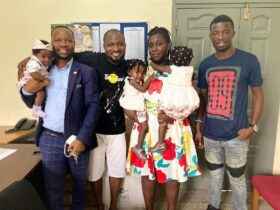 Ghanaian Actor Kwaku Manu is the one behind Funny Face family reunion [Photos]