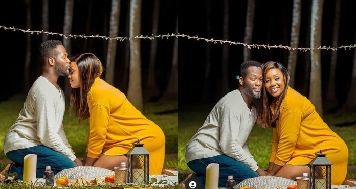 Adjetey Anang and wife celebrate 14 years in marriage, shares beautiful photos on social media