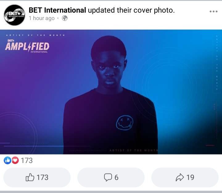 Yaw Tog named BET international artiste of the month